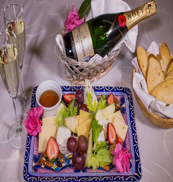 Champagne & Chesse Platter